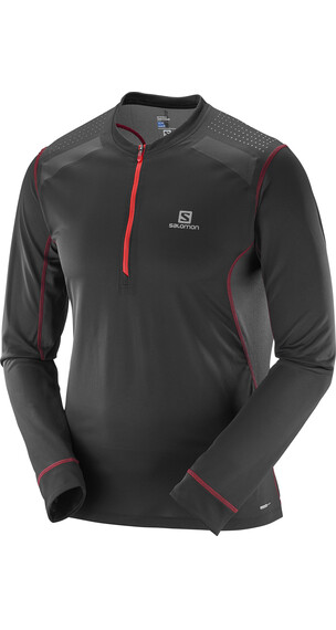 Salomon Fast Wing Løbe T-shirt Herrer sort